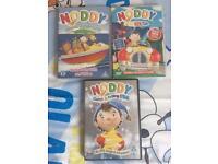 Noddy DVDs x 3