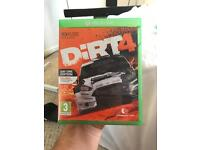 Dirt 4 Xbox one.