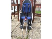 Hamax reclining child's bike seat in Good condition