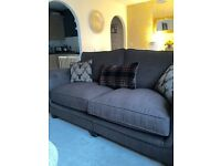 large 3 seater sofa mink/brown