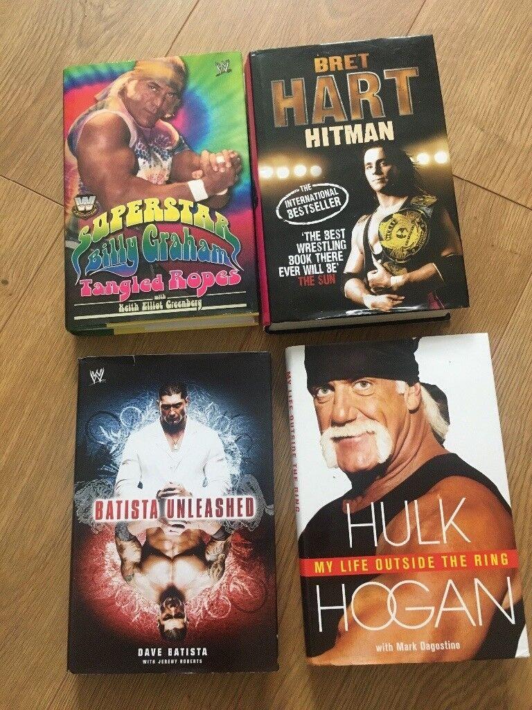 4 Wrestling Hardbacks