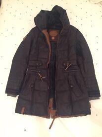 NAKETANO Long Winter Dark Blue Jacket