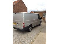 For sale 2010 silver ford transit