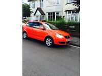 IMMACULATE RED VW POLO 1.4 TDI