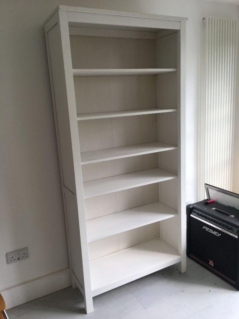 Ikea Hemnes Bookshelf In White Solid Wood