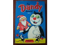 3x Vintage Dandy Annuals from the 1970's