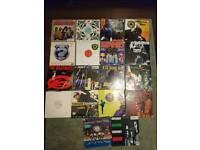 Vinyl records lps