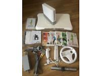 Nintendo Wii console- bundle inc. Wii board