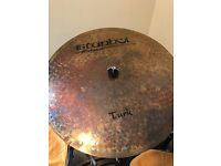 "Istanbul Mehmet 20"" Flat Ride Cymbal MINT and UNUSED"