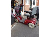Electric mobility scooter - Red - Rascal make