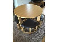 Space Saver Round Dining Table