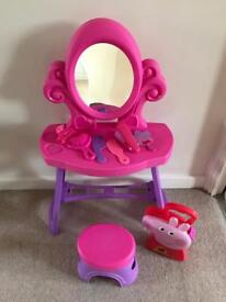 Toddler Dressing Table with accessories