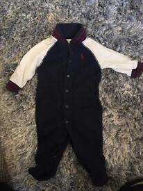 Ralph Lauren Babygrow Navy! Genuine - 3 months