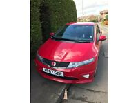 Honda Civic Type R 47k Mileage - Petrol 2 litre i-Vtech engine, sat nav, hands free, race seats