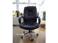 Dark Brown Office Chair.