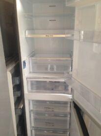Silver Fridge freezer...Ex display Mint Free Delivery