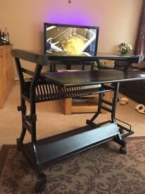 Brand new with tags Ash glass computer work station
