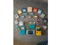 Game boy collection all pokemons