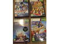 Xbox 360 Kinect games 2 brand new