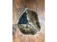 Faux Fur Winter Collar Scarf Wrap