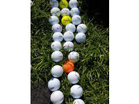40 x TOP QUALITY USED GOLF BALLS IN EXCELLENT CONDITION FOR £10