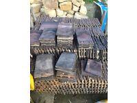 Reclaimed handmade clay tiles
