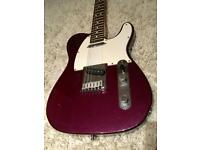 1998 Fender American Standard Telecaster - Purple Metallic - Courier Delivery