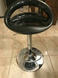 3 Black Kitchen stools