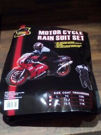 Motor Cycle Rain Suit Set
