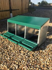 Eton Triple Rollaway Chicken Nesting Box