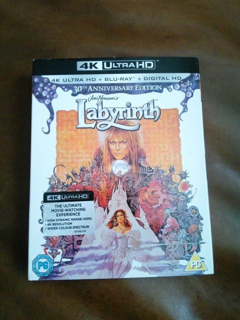 4k Ultra HD DVD 30th Anniversary Edition Labyrinth | in Coxhoe, County  Durham | Gumtree