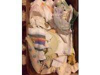 Box full of vintage doilies mats linen Offers
