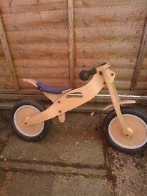 Steady Eddie balance bike