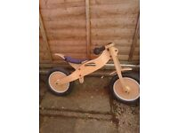 Steady Eddie balance bike