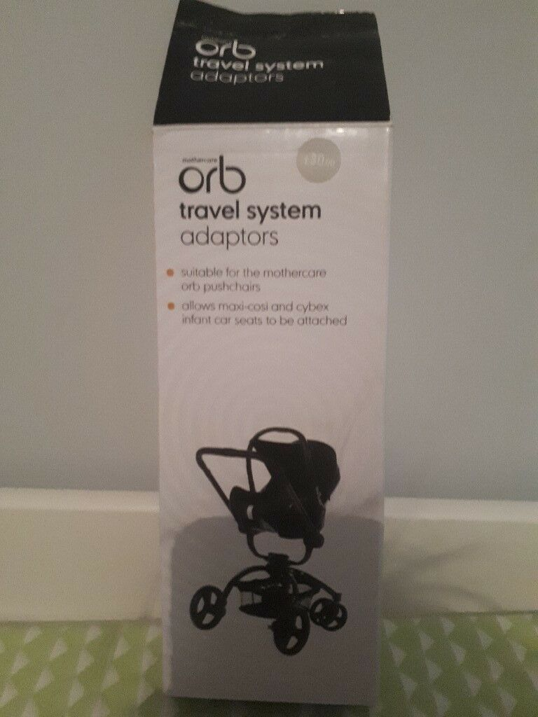 Mothercare orb car seat adapters