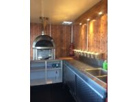 CATERING TRAILER-Wood Fired Pizza Oven