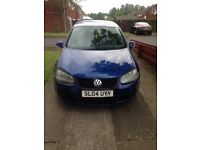 2004 GTFSI VW GOLF, 12 MONTHS MOT