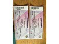 2 x seated Foo Fighters tickets, London Stadium, Friday 22nd June. £60 each