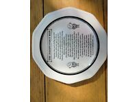 The Indispensible Man China Plate