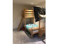 Kids Pirate Ship Bed, Wickey