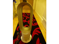 Dyson Hot + Cool AM05 Fan Heater White/Silver - Only used twice - Bargain