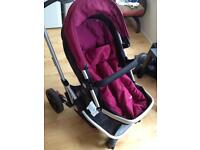 Mothercare 3 in 1 ,cheap with car seat