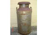 STEEL MILK CHURN FROM UNITED DAIRIES
