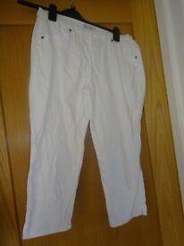 Debenhams Cropped Trousers Size 10