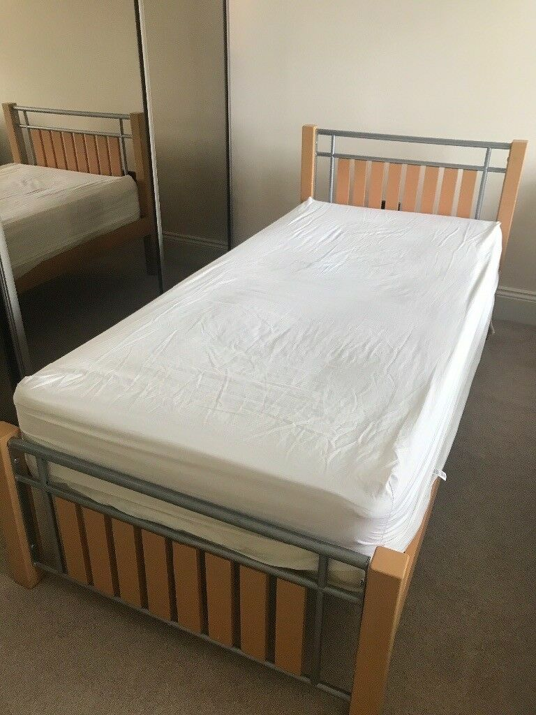 Childrens Single Bed Frame And Mattress