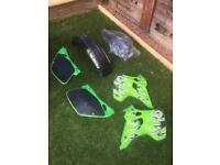 Kx 125 plastics kit