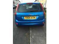 Ford Fiesta LX in blue, 04 plate, 5 doors, 1.4 engine, MOT 6/3/17, good runner, reliable 1st car