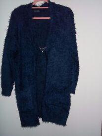 "Ladies ""Eyelash"" Knitted Coat"