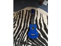 Blue Ukelele (like a mini guitar )
