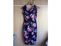 Floral Lipsy Dress Size 8